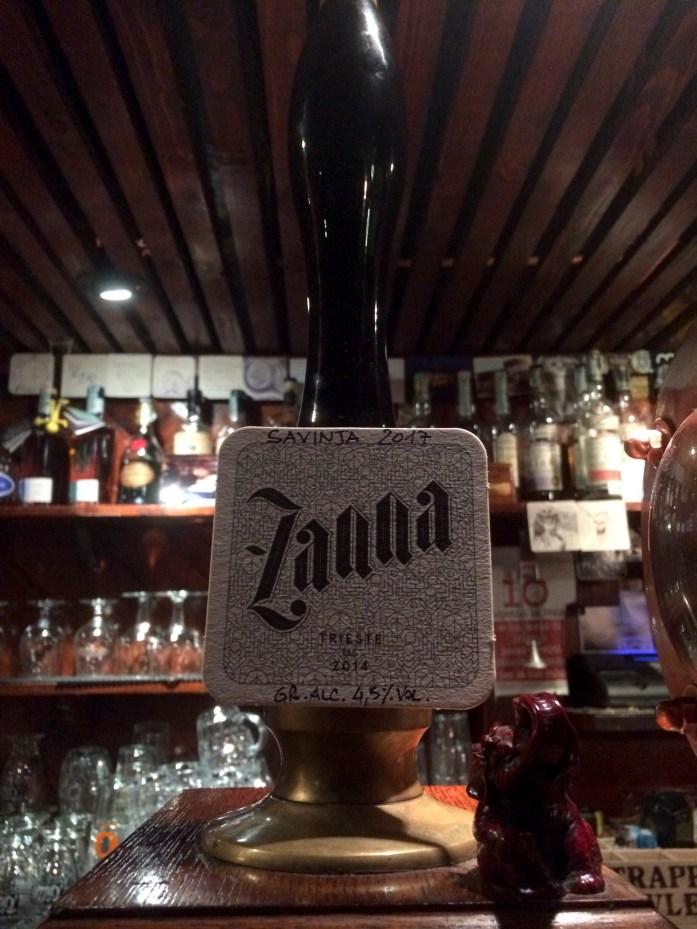 Zanna beer, Mastro Birraio, Trieste, Italy