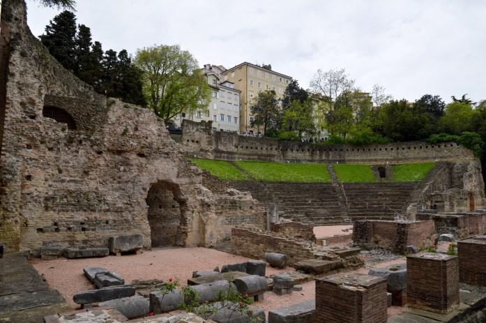 Roman Theater, Trieste, Italy