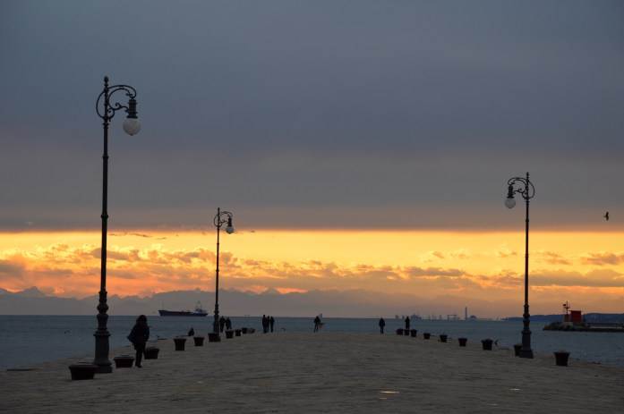 Molo Audace in Trieste, Italy