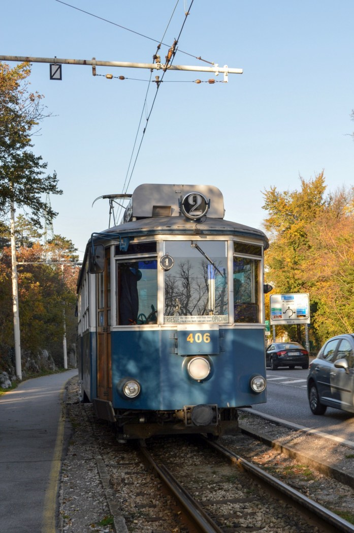 Tram from Trieste to Opicina, Italy
