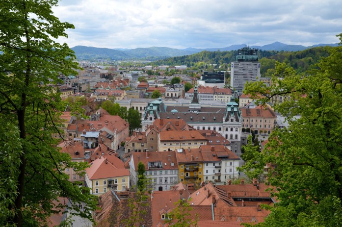 View from Ljubljana Castle, Slovenia