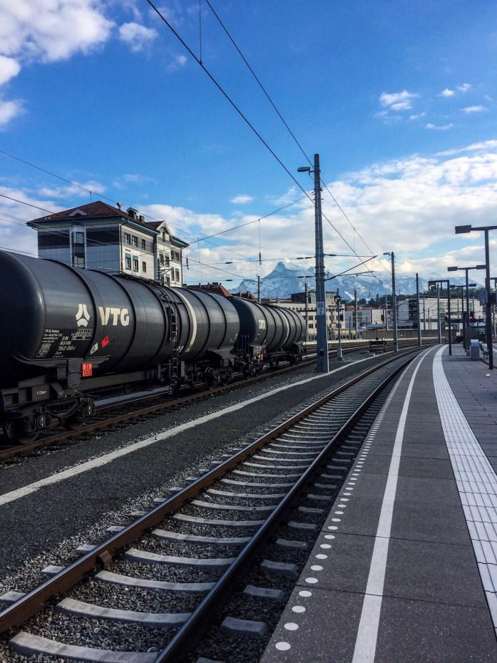 Train station, Salzburg, Austria