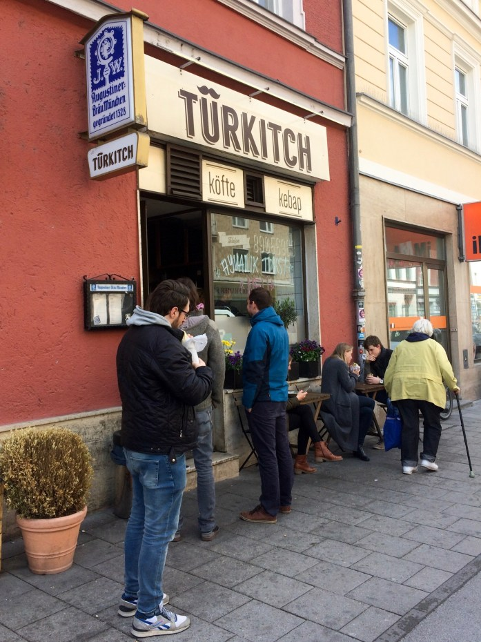 Türkitch Döner shop, Munich, Germany