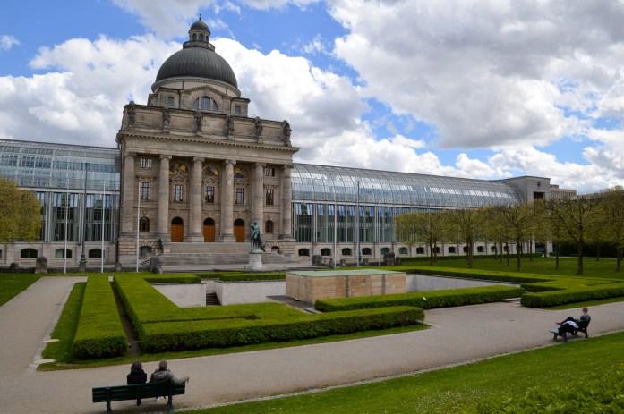 Bayerische Staatskanzlei, Hofgarten, Munich, Germany