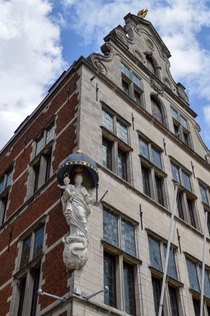 Madonna statue, Antwerp, Belgium