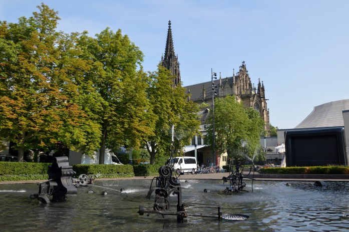 Tinguely Fountain, Basel, Switzerland