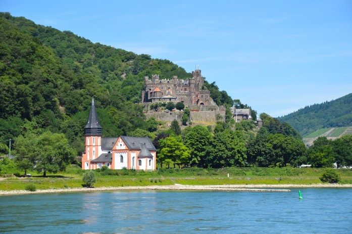 Rhine River valley cruise, Germany