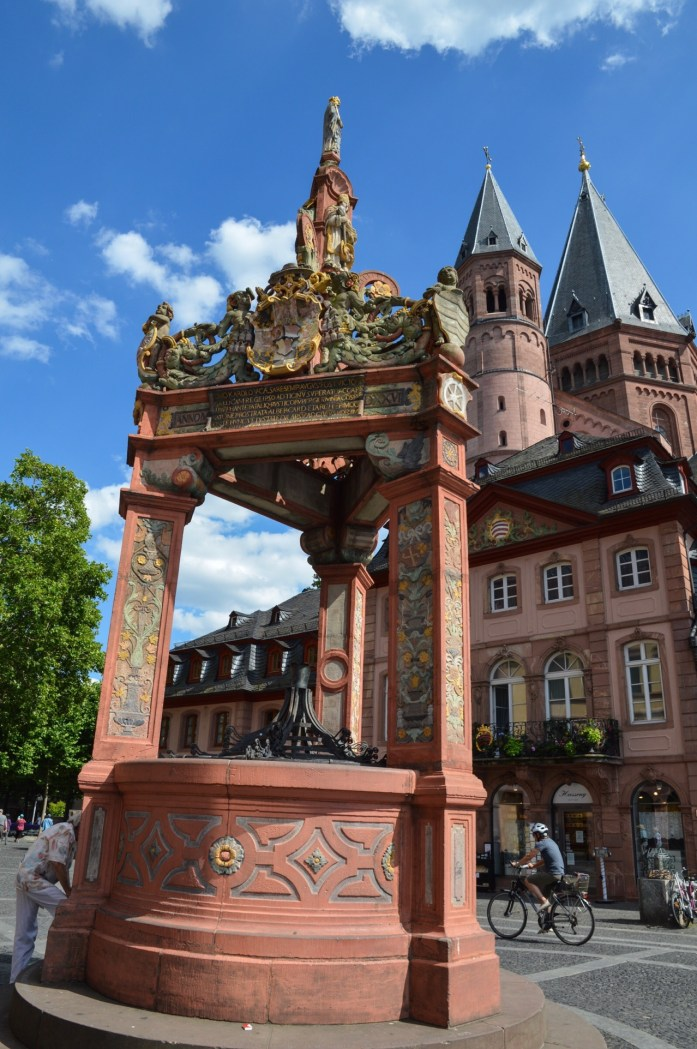 Marktbrunnen, Mainz, Germany
