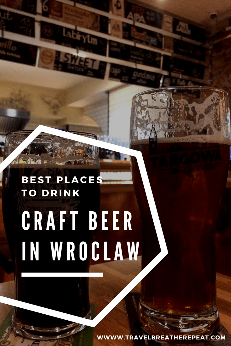 Where to drink Polish craft beer in Wroclaw, Poland; best craft beer bars in Wroclaw; #wroclaw #poland #craftbeer