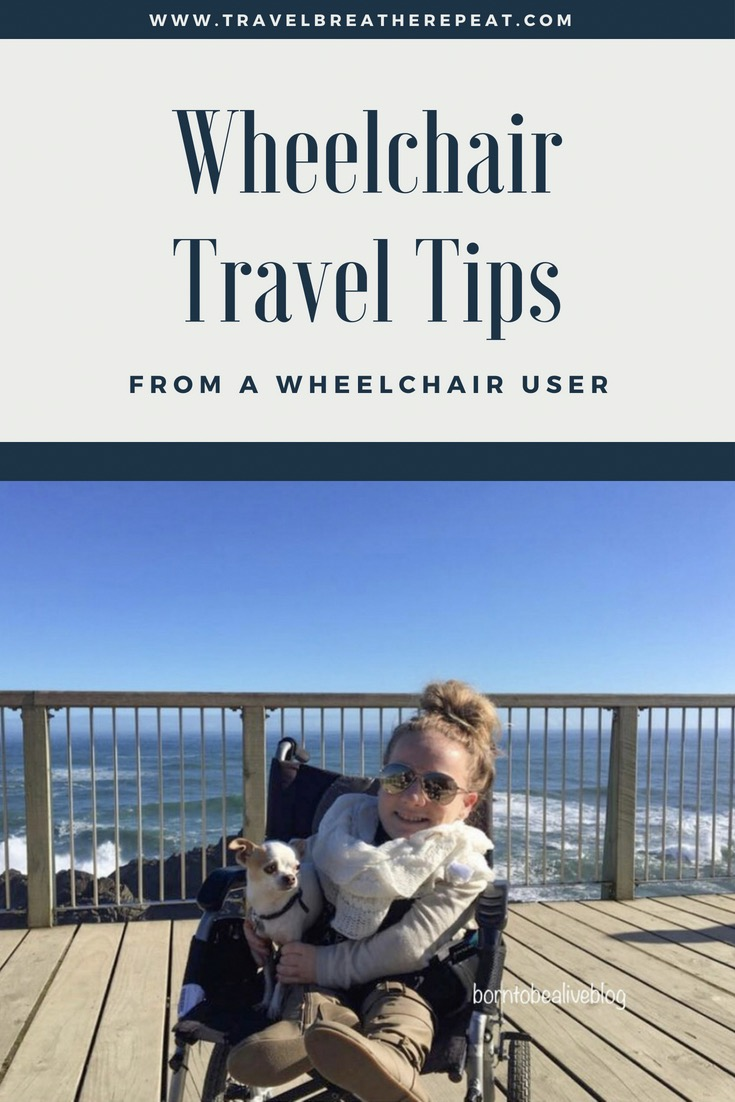 Wheelchair travel tips from a wheelchair user; tips for traveling in a wheelchair #wheelchairtravel #accessibletravel #travel #traveltips