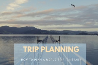 Planning a world trip itinerary