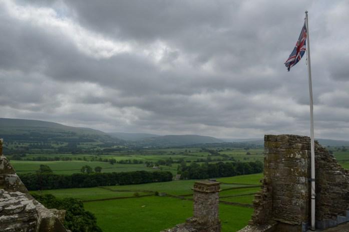 Bolton Castle, Wensleydale, Yorkshire Dales, UK