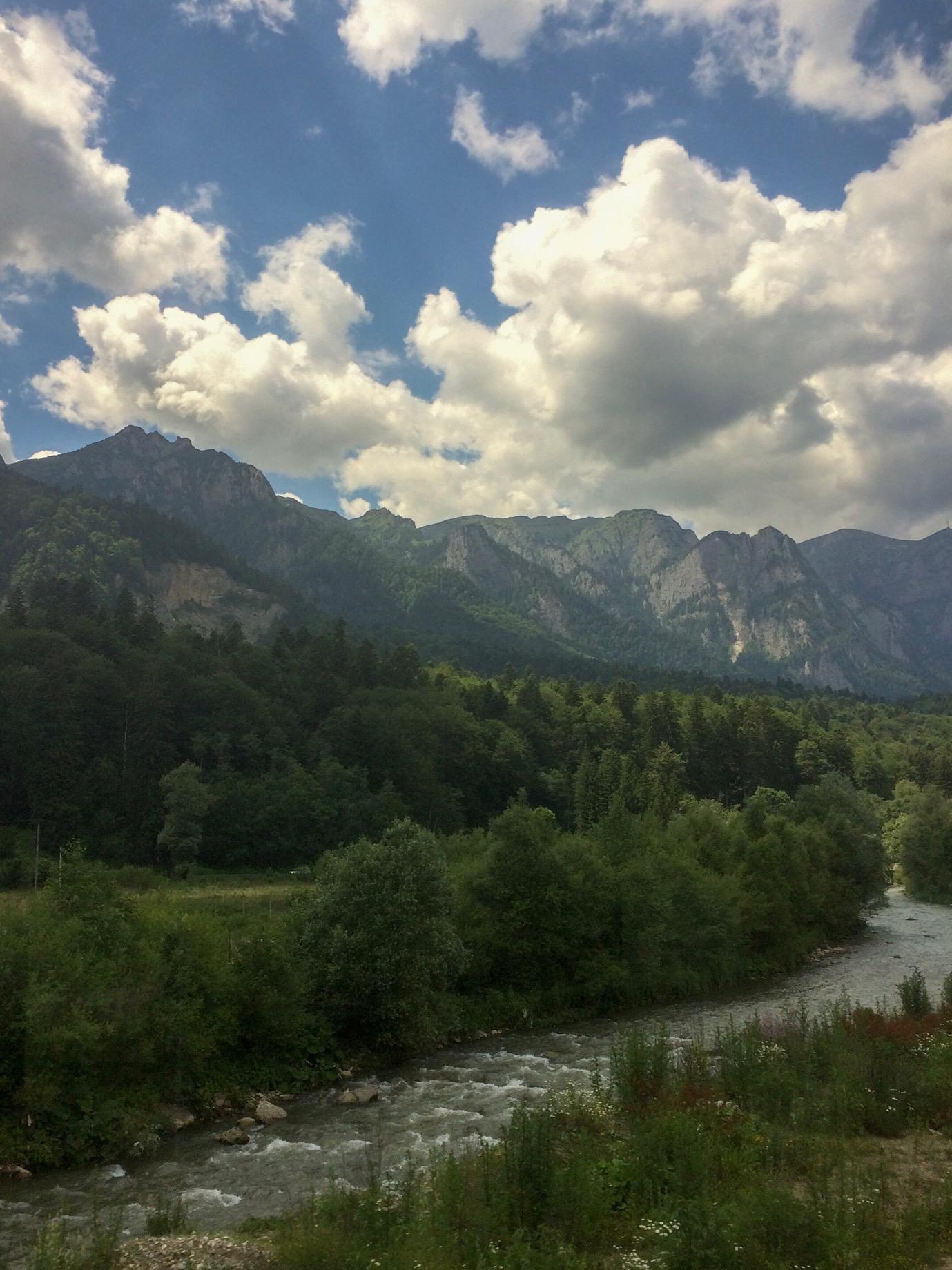 Bucegi Mountains of the Southern Carpathians, Sinaia, Romania