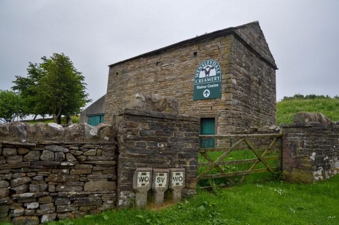 Wensleydale Creamery, Hawes, North Yorkshire, UK