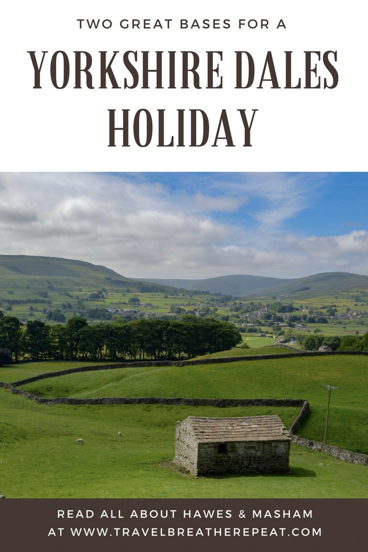 Two great bases for a Yorkshire Dales holiday: Hawes & Masham; places to stay in North Yorkshire; things to do in the Yorkshire Dales; #yorkshiredales #yorkshiredalesnationalpark #northyorkshire #england #hawes #masham #travel #travelinspiration
