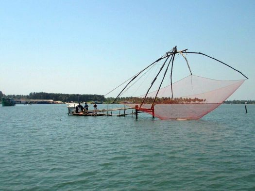 India-Kerala-fishing-nets