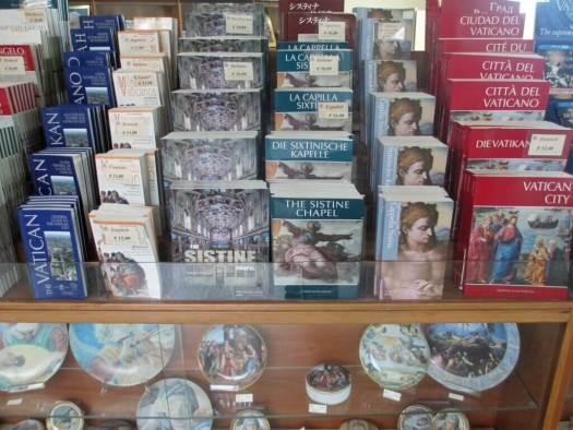 Vatican Museum store
