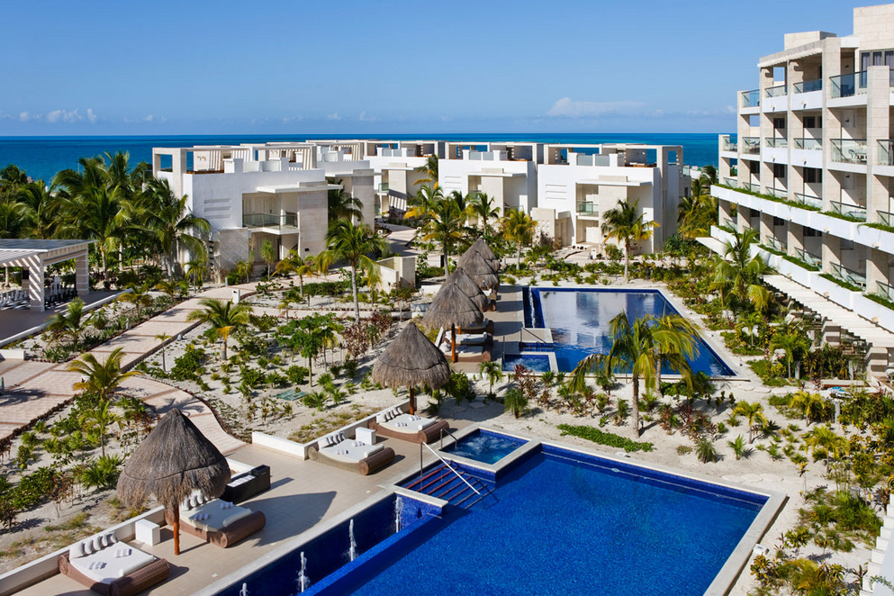 The Beloved Hotel Playa Mujeres Travel By Bob