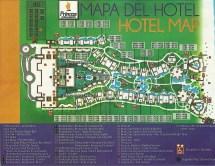 Grand Sunset Princess Riviera Maya Resort Map