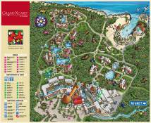 Occidental Grand Xcaret Resort Map