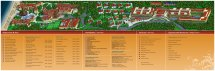 Sandos Playacar Beach Resort Map
