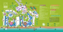 Azul Beach Resort Cancun Mexico Map