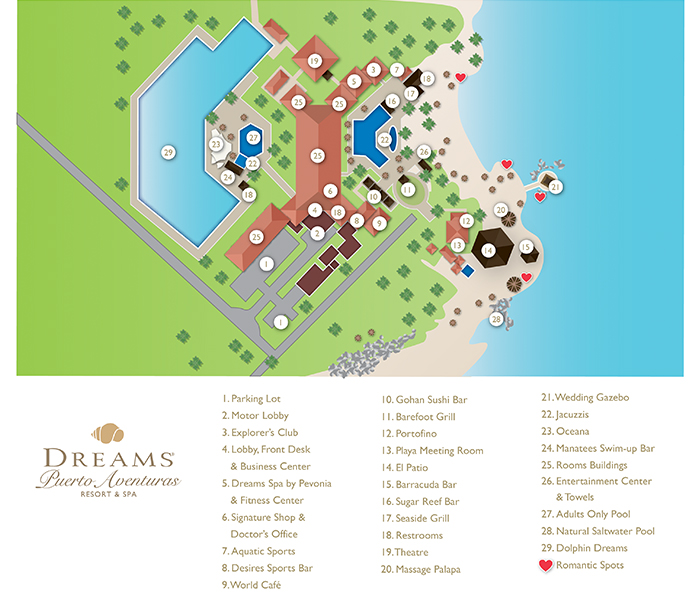 Dreams Puerto Aventuras Resort Amp Spa Travel By Bob