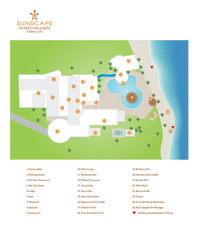 Sunscape Puerto Vallarta Resort Amp Spa Travel By Bob
