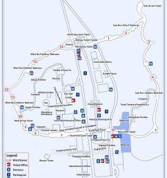 map of juyongguan great wall [ 918 x 1134 Pixel ]
