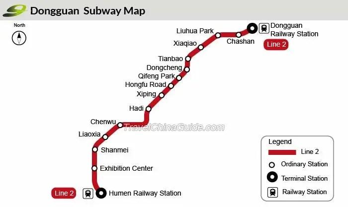 Dongguan Subway: Rail Transit, Metro Lines, Ticket Fare