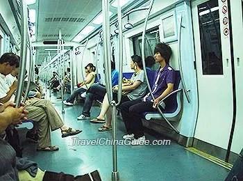 Beijing Subway Line 16 Metro Timetable Transfer Buses