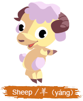 China Zodiac Animal - Sheep