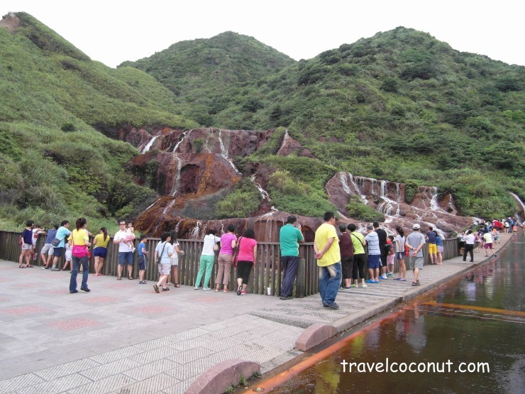 From Jiufen Old Street To Golden Waterfall