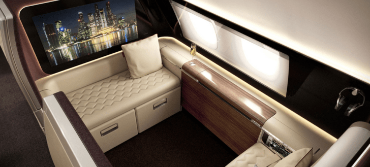 New Singapore Airlines first class 2