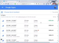 Flights from Cartagena, Colombia to Auckland, New Zealand : Google flights best offer for 2858$