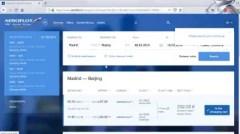 Madrid to Beijing flights : Aeroflot Beijing Madrid layover flights