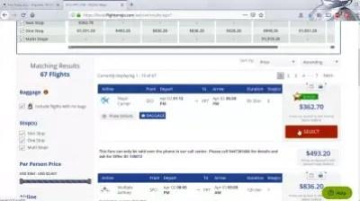 How is flightmojo flight booking? Flights Mojo reviews : Selecting airfare to book