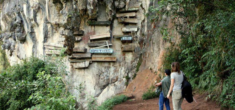 Wiszące trumny w Sagadzie, fot. TravelCompass (c)