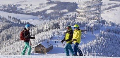 Znakomite warunki narciarskie w Czechach