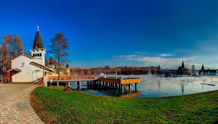 Termalne jezioro w Hévíz