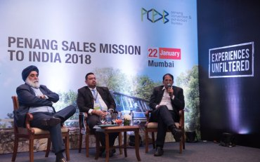 Malezyjski Penang promuje się w Indiach