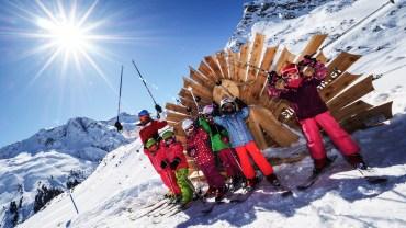 Austriacki ośrodek narciarki w Paznaun przyjazny dla rodzin z dziećmi