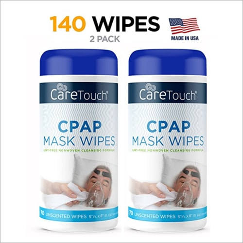 ResMED Portable CPAP Machine - Care Touch CPAP Cleaning Mask Wipes