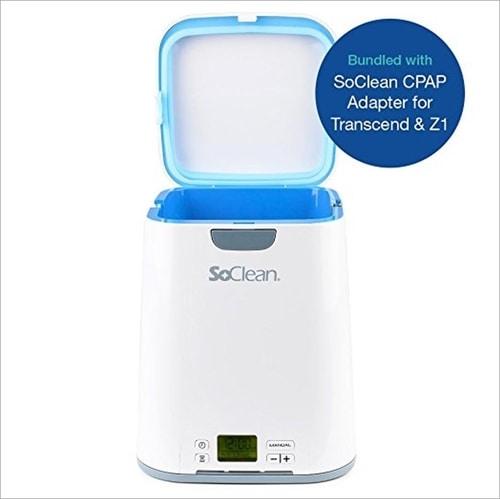 Transcend Auto Travel CPAP - Soclean2 Cleaner & Sanitizer