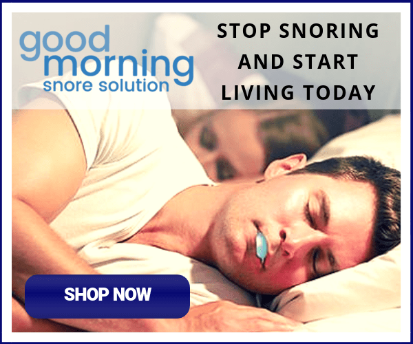Good Morning Snoring Solution - Anti Snoring Mouthpiece