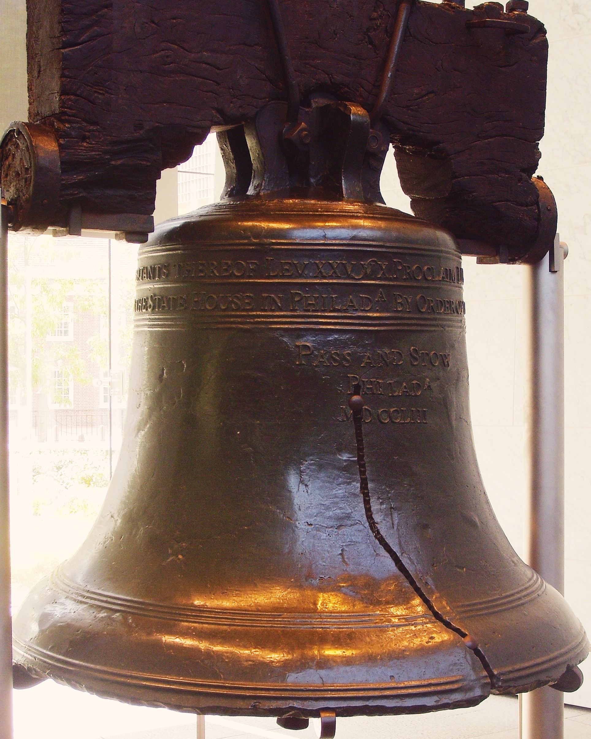 The Cracks In The Liberty Bell Travelcraft Journal