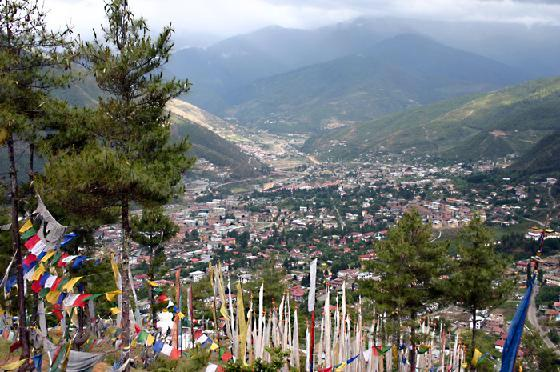 Thimphu, the capital of Bhutan