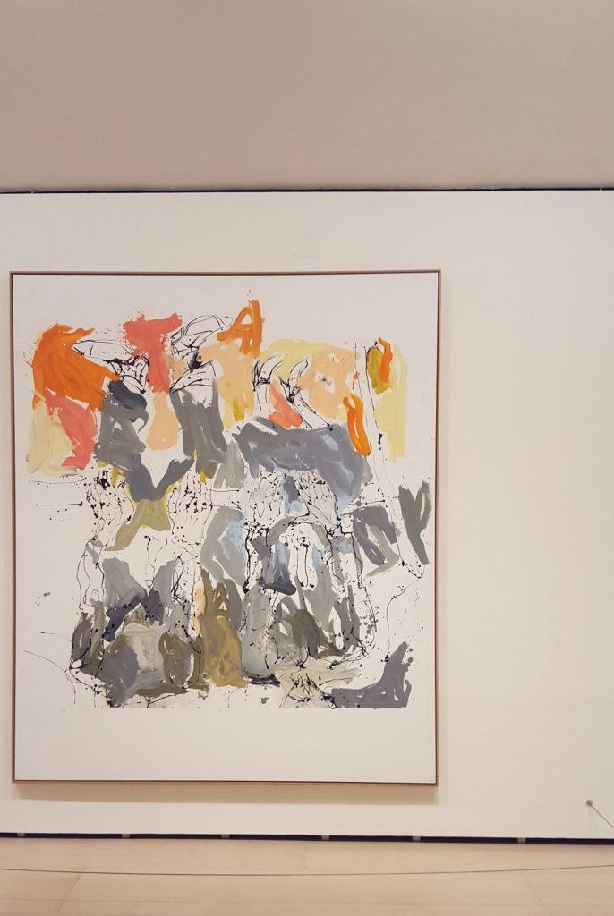Richard and John visited him on Long Island and drank too much by Georg Baselitz