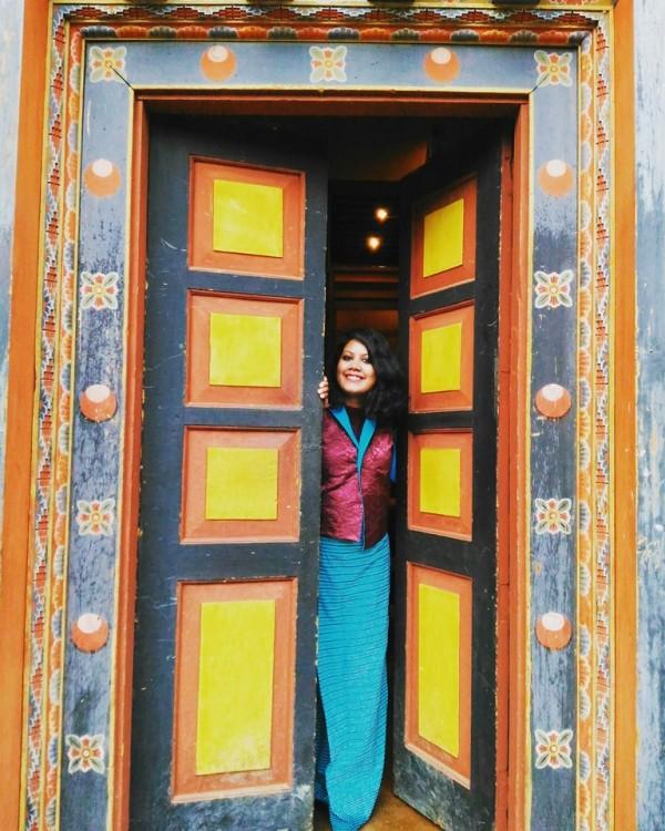 me-in-bhutanese-dress-called-kira