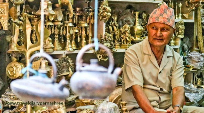 Brass Shop in Patan, NEPAL, MY TRAVEL DIARY, TRAVEL BLOG